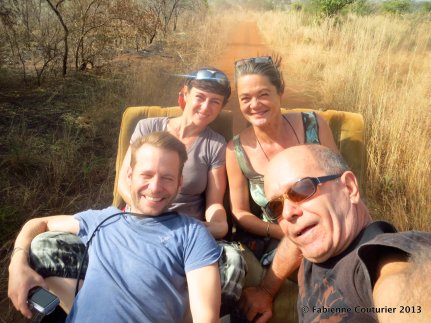 La croisière - euh, non: le safari s'amuse!