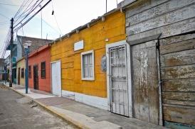 Dans la petite ville d'à côté, il subsiste quelques petites maisons de bois comme celles qu'on peut voir dans les Antilles.